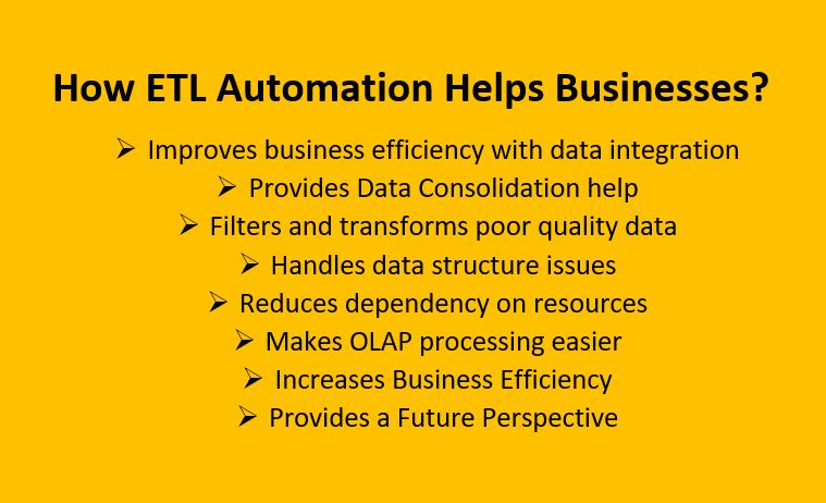 Data integration automation benefits